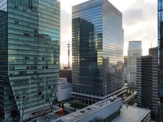 プライム・ストラテジーのオフィスからの眺め